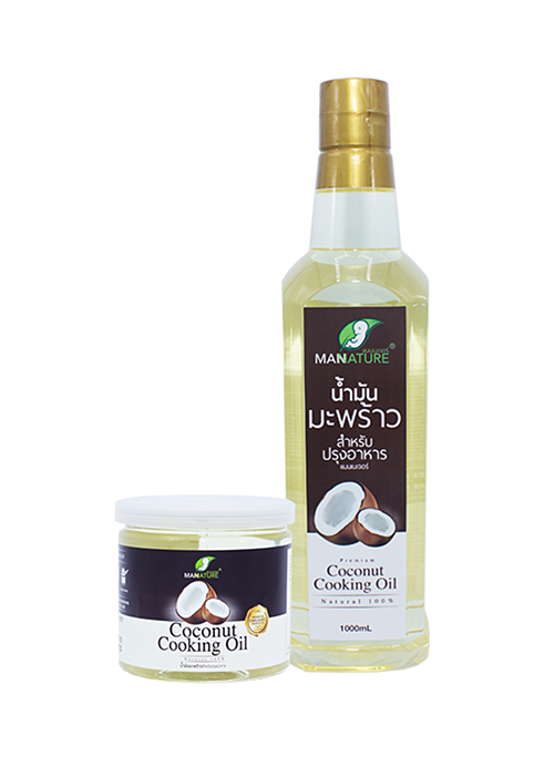 Organic Coconut Cooking Oil By ManNature
