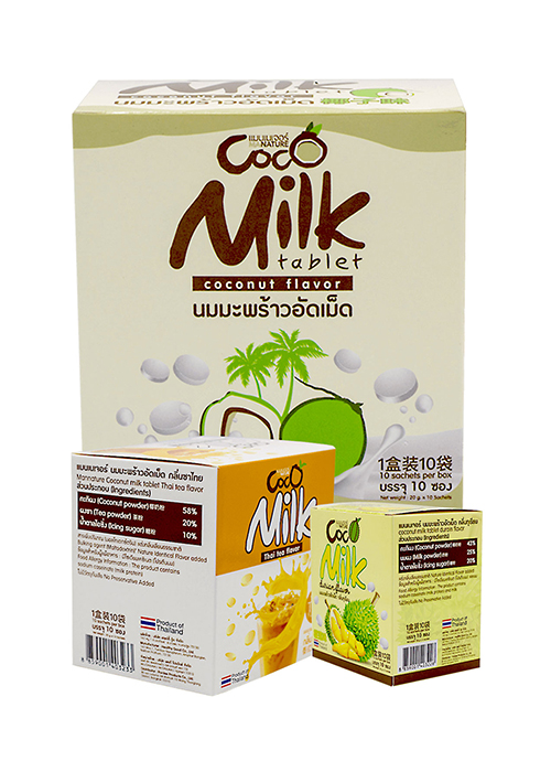 Organic Coconut Milk Tablet By ManNature