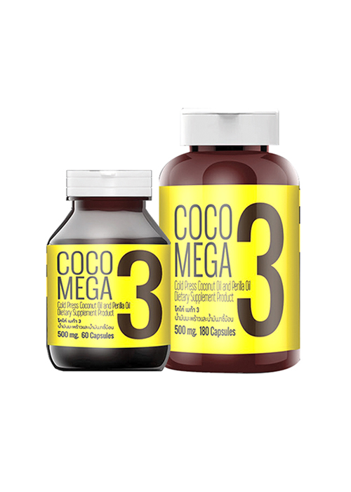 Organic Coconut Oil Capsule COCO MEGA 3 By ManNature