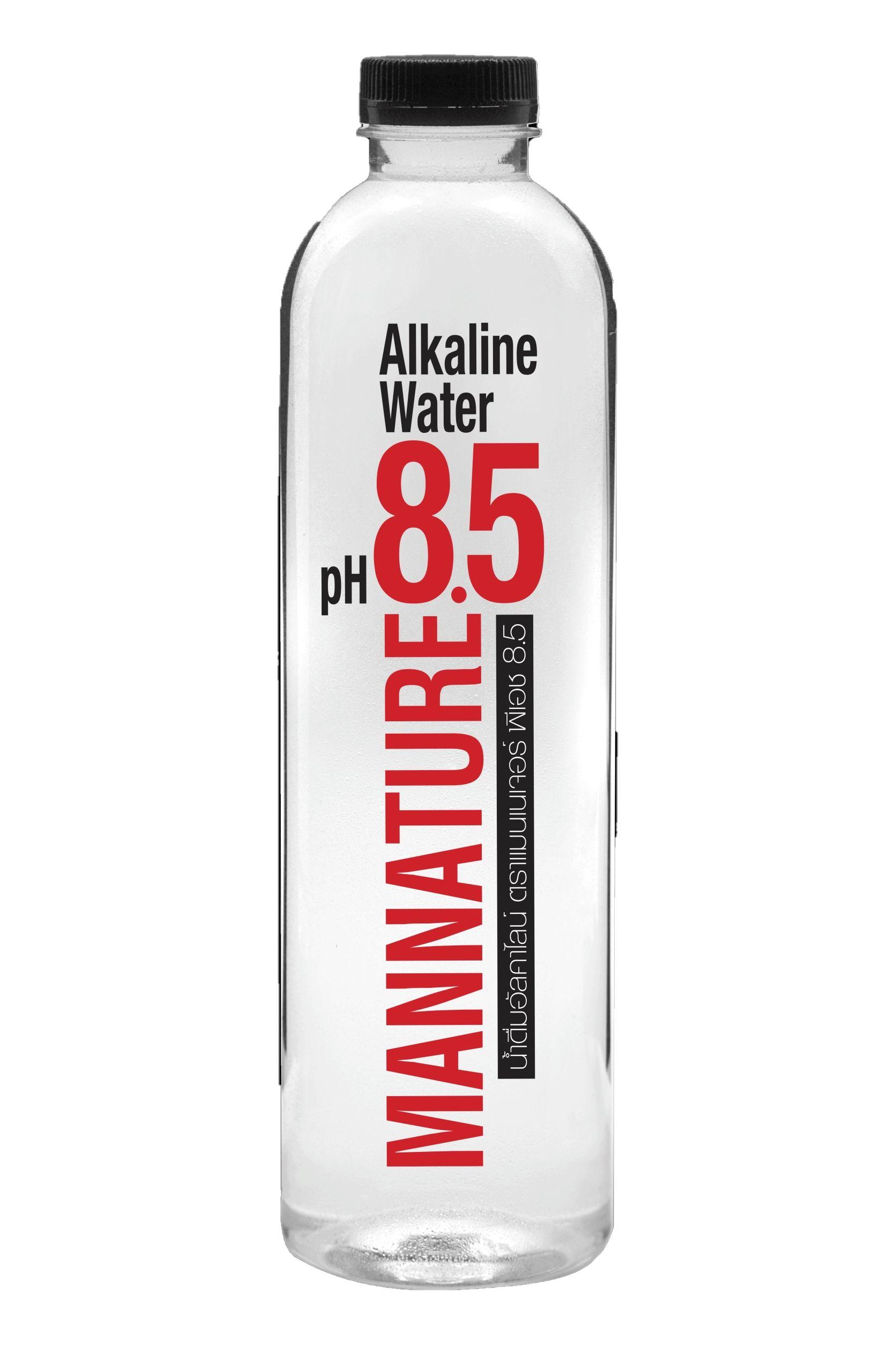 น้ำดื่มอัลคาไลน์ (น้ำด่าง) ตราแมนเนเจอร์
