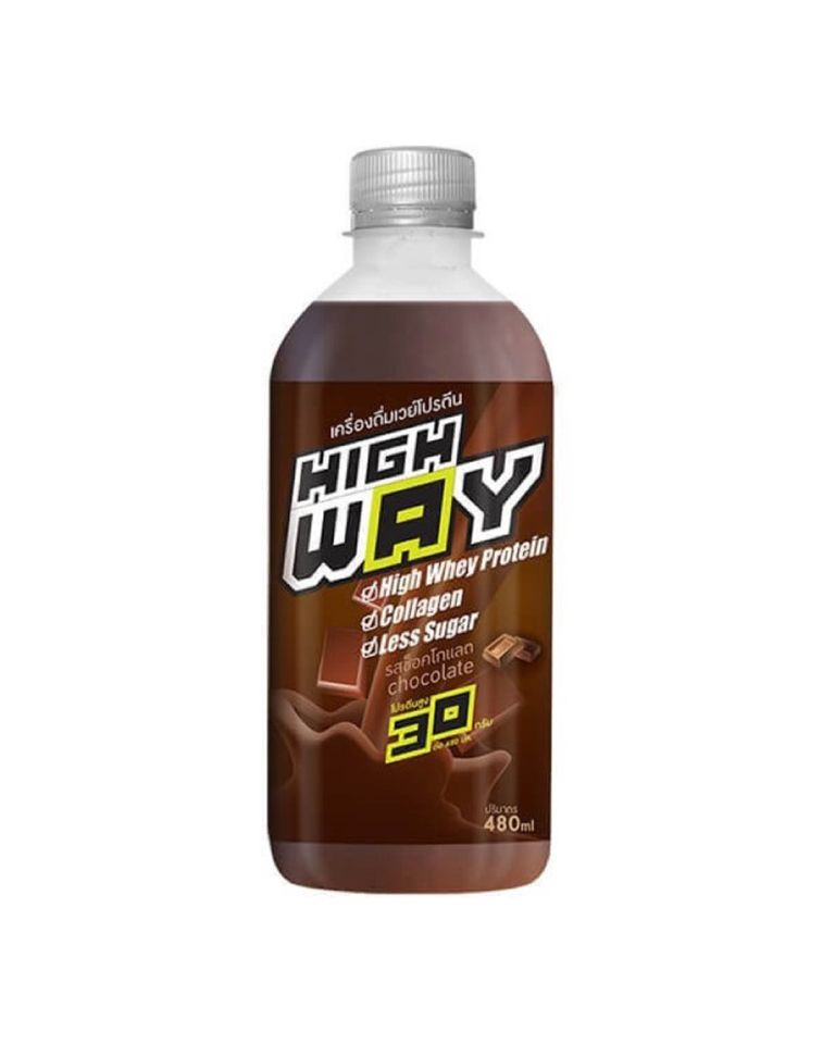 HighWay Whey Protein Isolate Extra Collagen Chocolate Flavour