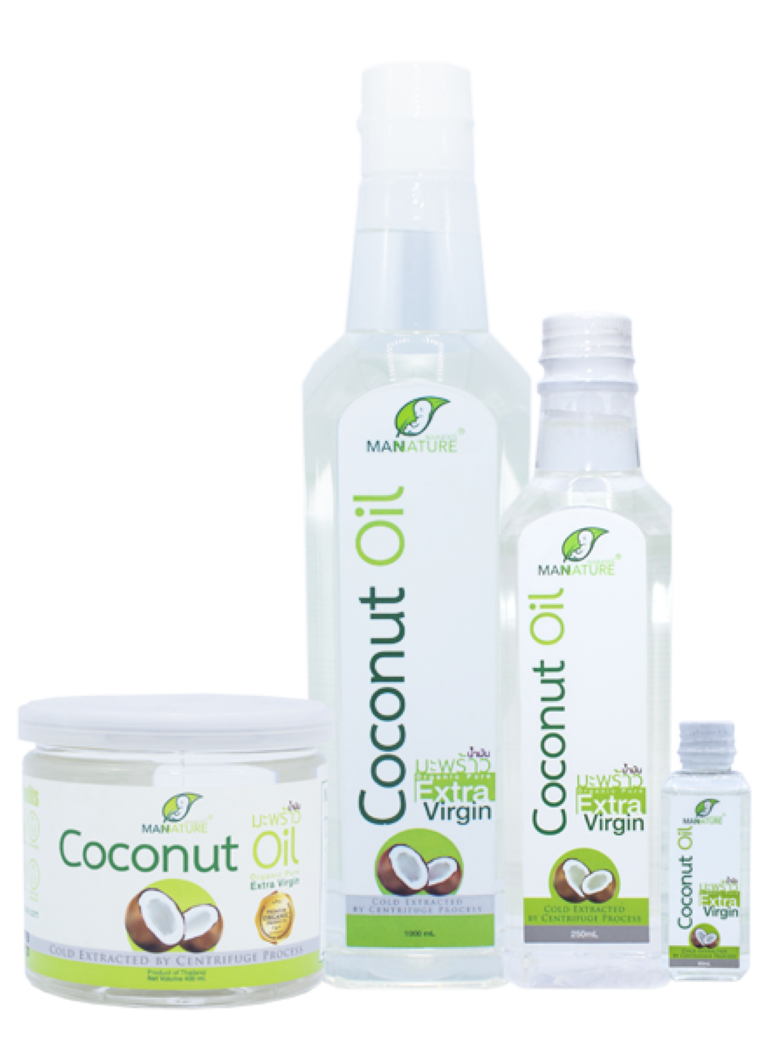 Organic Coconut Oil Extra Virgin By ManNature