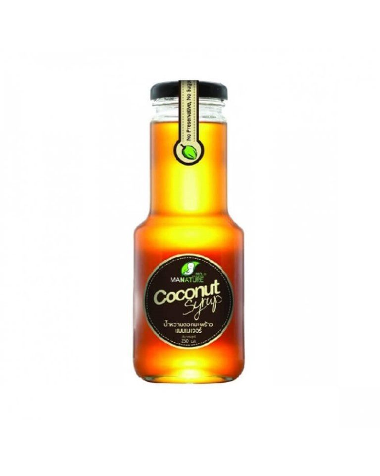 Organic Coconut Syrup By ManNature
