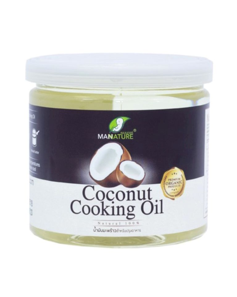 Organic Coconut Cooking Oil By ManNature 400 ml