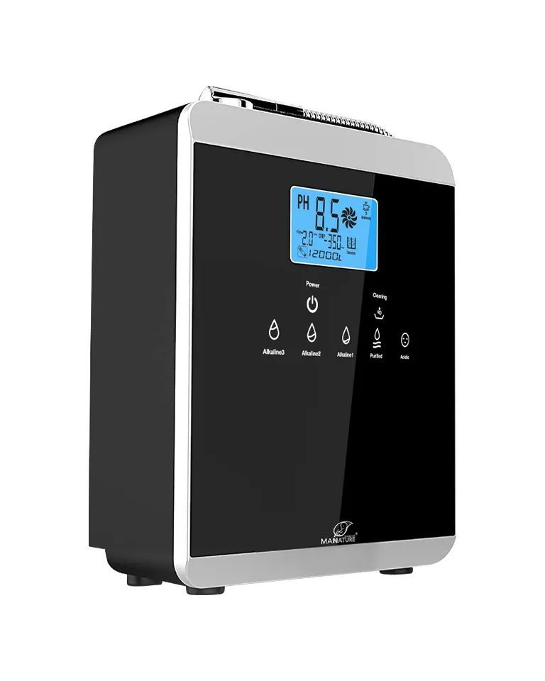 Alkaline Water Ionizer new model AL-808A S2 By ManNature